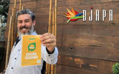 Djapa recebe apoio da Sociedade Vegetariana Brasileira