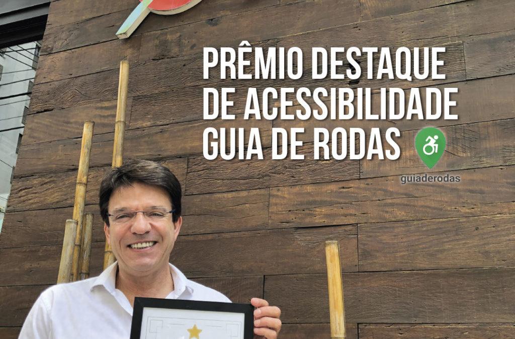 Restaurante Djapa recebe prêmio de acessibilidade